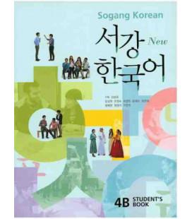 Sogang Korean New 4B- Student Book (2 Books + 1 CD)
