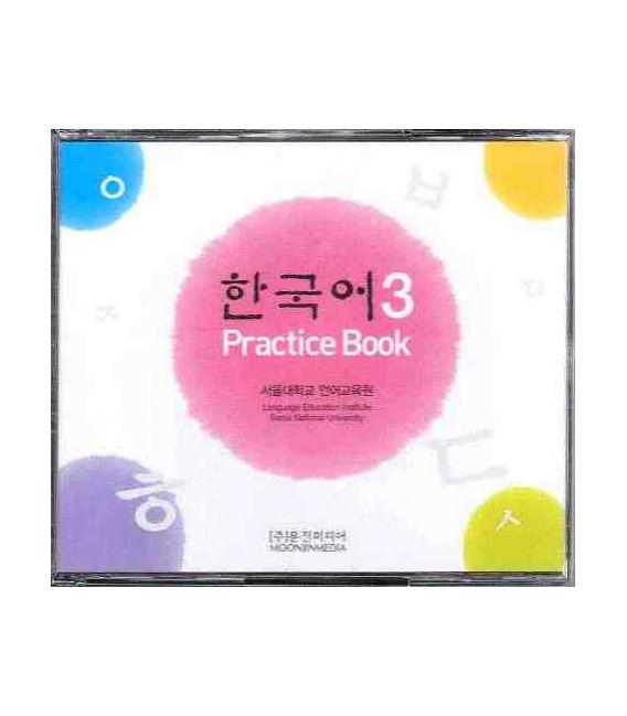 Korean 3 (Pack de 4 CDS del Practice Book)