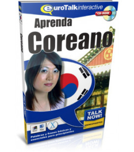Aprenda Coreano- Talk Now für Principiantes (Euro Talk- CD-ROM interactivo con base española)
