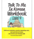 Talk to me in Korean Workbook 4