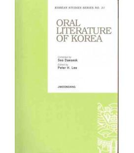 Oral Literature of Korea-Korean Studies Series NO.31