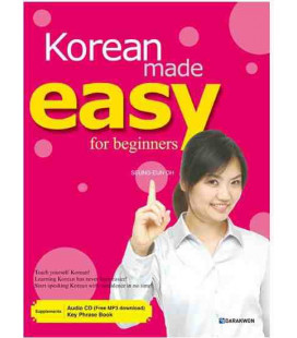 Korean made easy for beginners (Mit AUDIO CD, MP3 zum Download und Key Phrase Book)