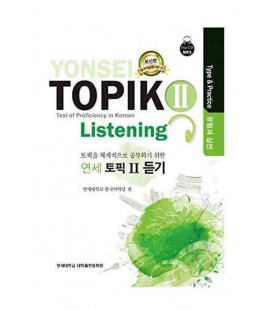 Yonsei Topik II- Listening (Test of Proficiency in Korean)- Type & Practice- CD inclus MP3