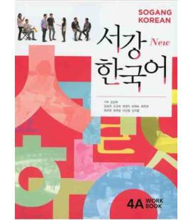 Sogang Korean New 4A- Workbook (Book + CD)