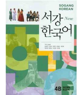 Sogang Korean New 4B- Workbook (Book + 1 CD)
