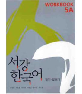 Sogang Korean New 5A- Workbook (Book + CD)