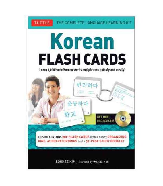 Korean Flash Cards Kit