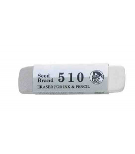 Seed Eraser 510 – Radiergummi zum Entfernen von Bleistift und Tinte (aus Japan importiert)